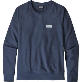 Patagonia Pastel P-6 Label Ahnya Crew Sweatshirt Women stone blue